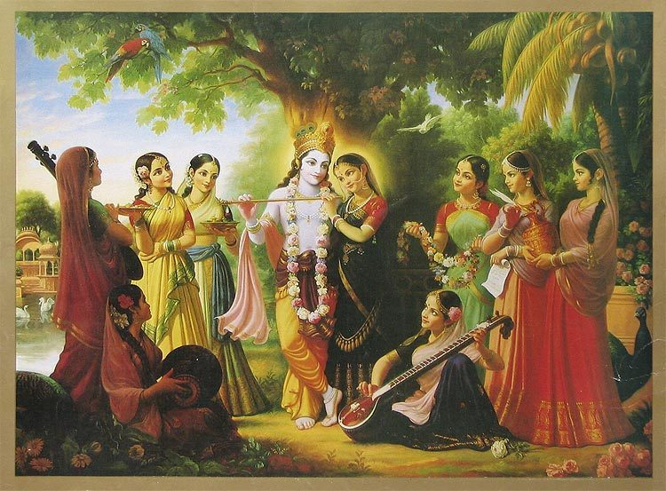 Image result for photos of krishna and gopis